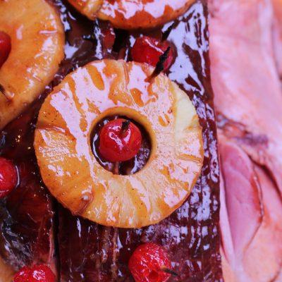 Ham with Pineapple & Brown Sugar