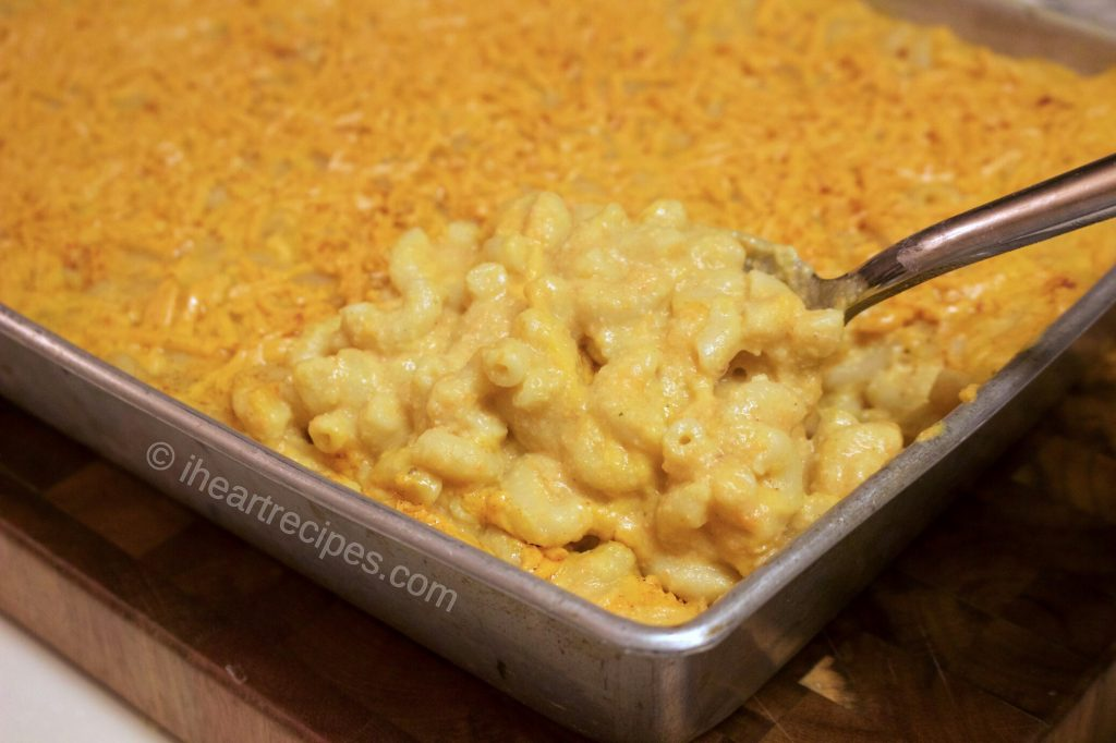 Vegan macaroni and cheese is a delicious, comfort food.