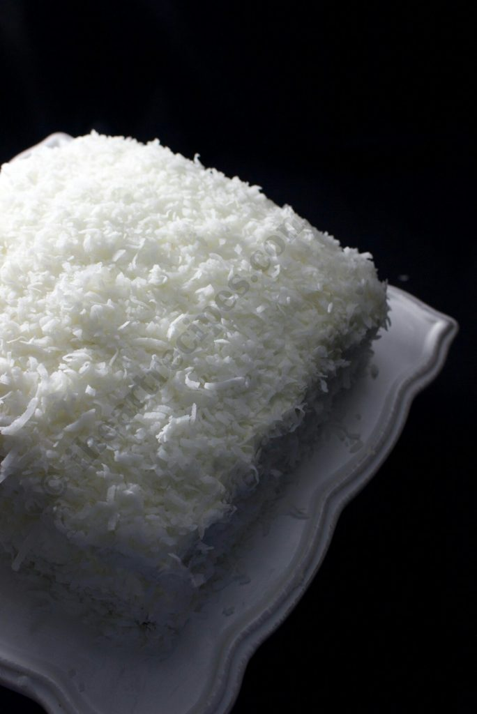 Yummy coconut cake