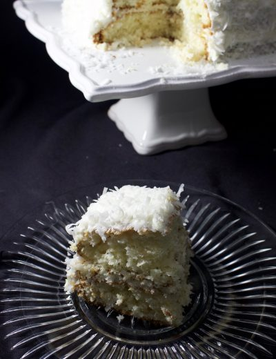 Semi Homemade Coconut Cake