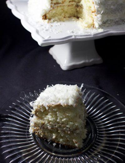 Semi Homemade Coconut Cake