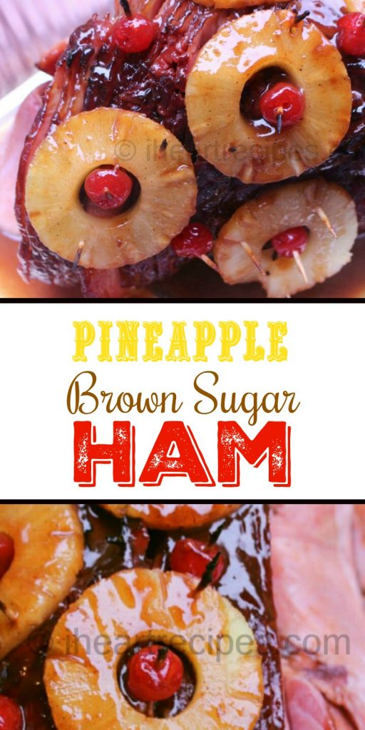 Jamaican Christmas Ham.Ham With Pineapple And Brown Sugar Glaze I Heart Recipes
