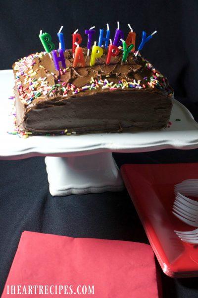 Simple Birthday Cake Recipe
