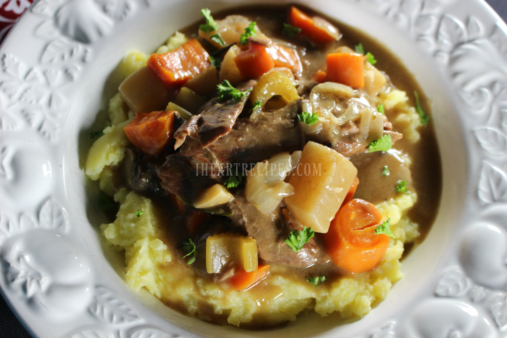 This Easy Pot Roast Recipe With Root Vegetables can be made in a dutch oven or a slow cooker, both turn out delicious!