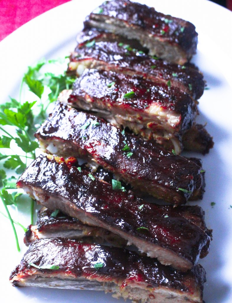 how to cook bbq pork ribs in the oven