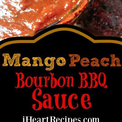 Mango Peach Bourbon BBQ Sauce