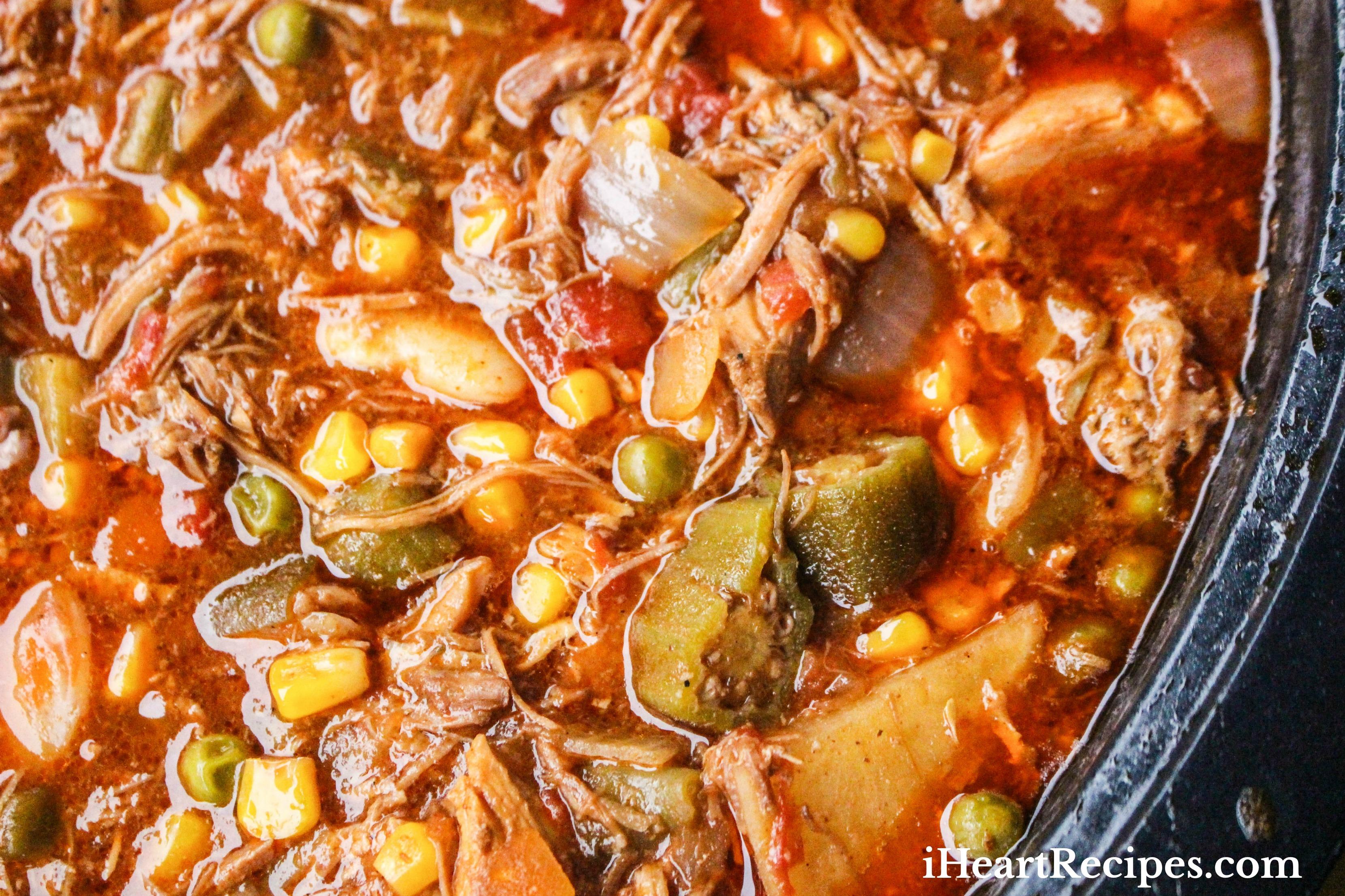 Slow Cooker Brunswick Stew I Heart Recipes