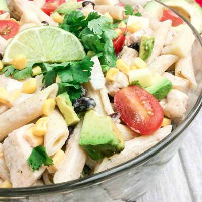 Cilantro Ranch Pasta Salad