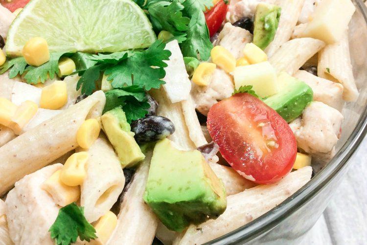 Cilantro Ranch Pasta Salad
