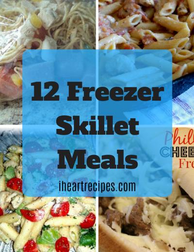 Freezer Skillet Meals