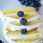 Easy Lemon Ice Cream Cake
