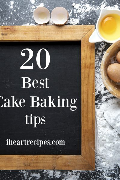 20 of the best cake baking tips