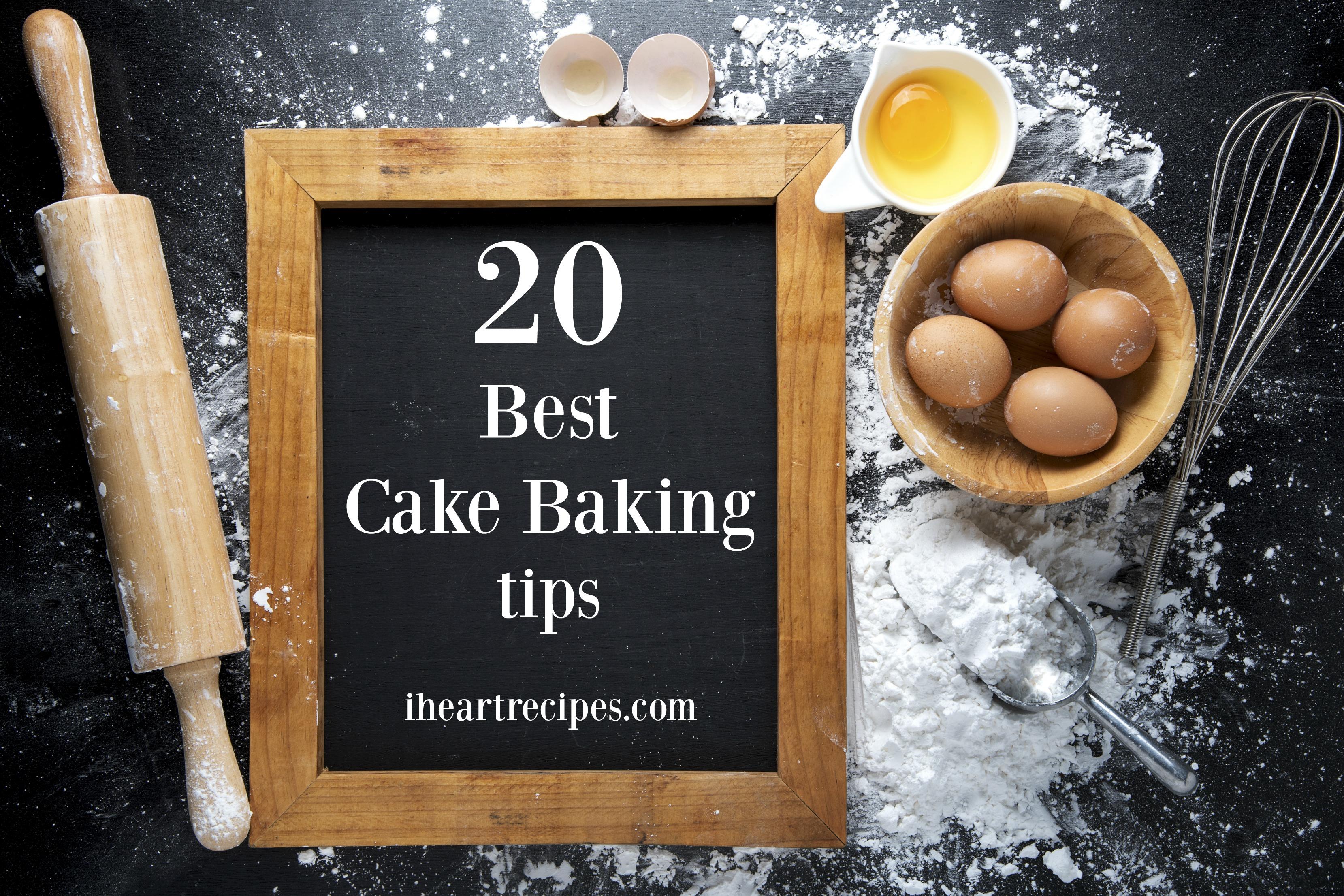 20 best cake baking tips