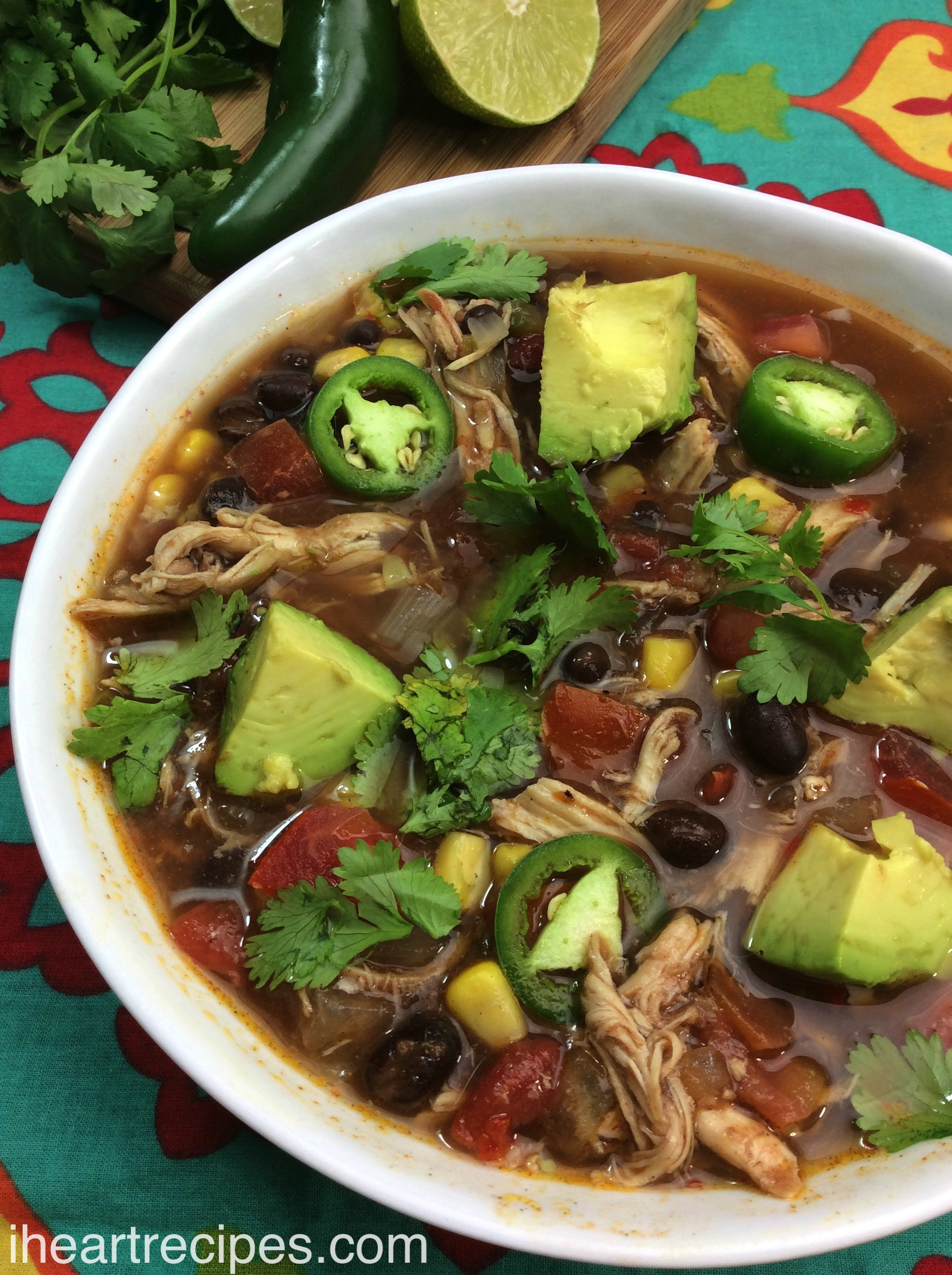 Tex Mex Chicken Soup