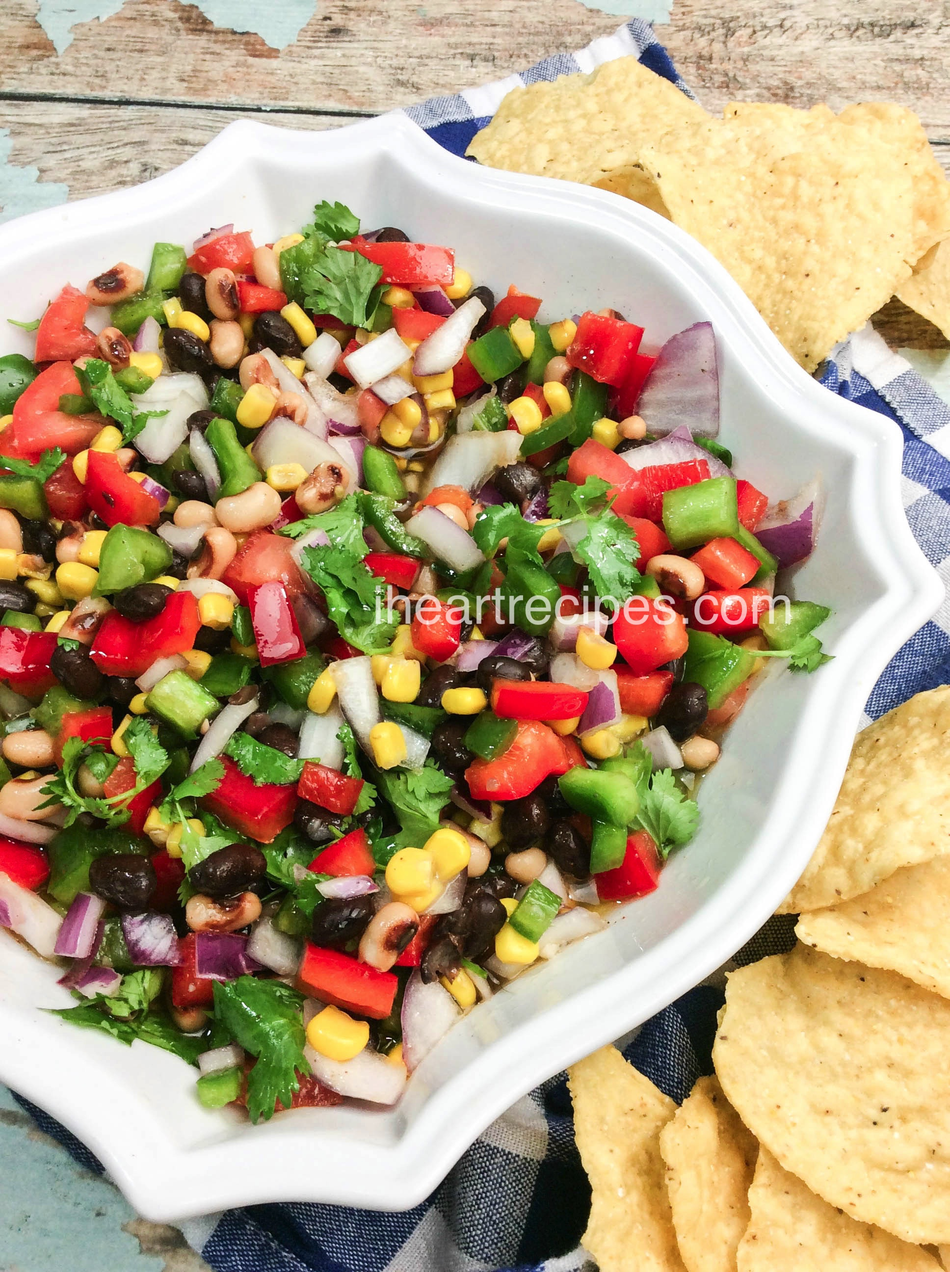 Easy Texas Caviar | I Heart Recipes