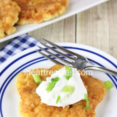Southern Fried Corn Fritters