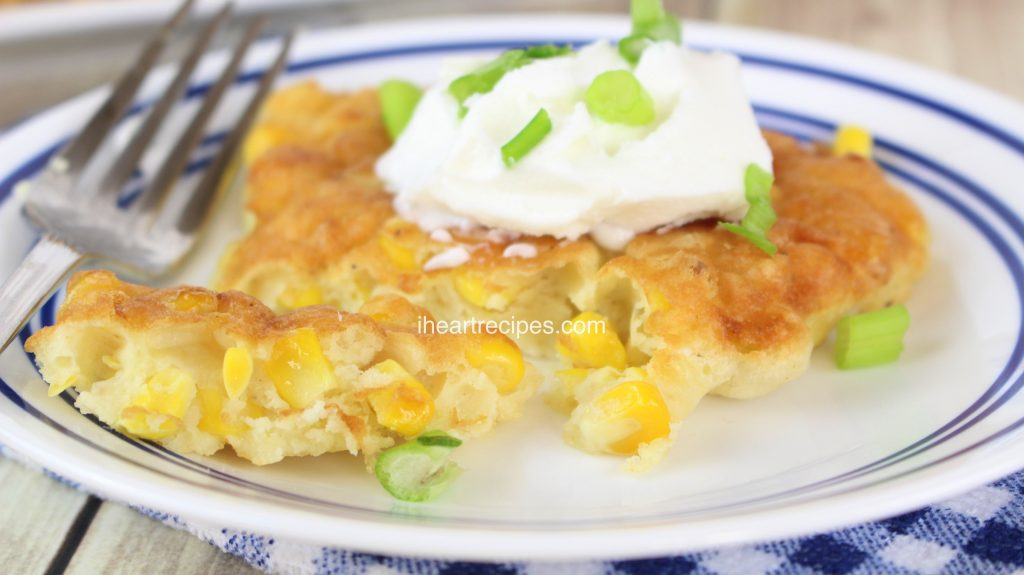 Sweet or savory, these Southern Fried Corn Fritters are a scrumptious treat!