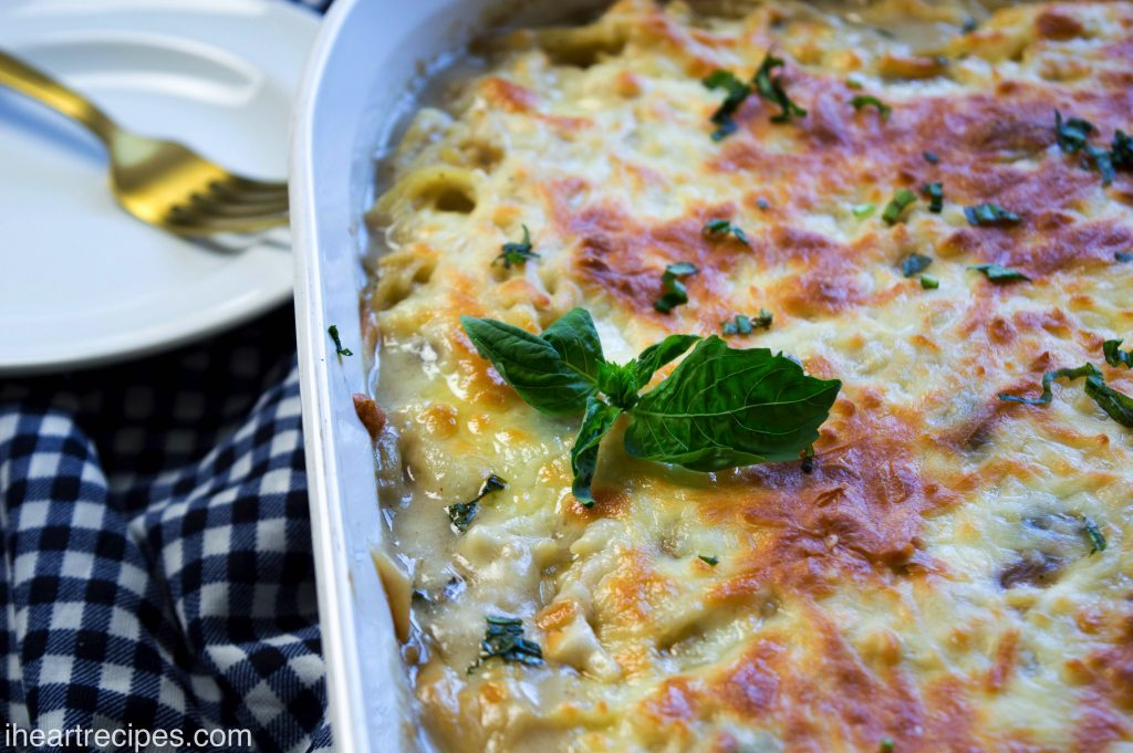 Creamy Chicken Tetrazzini | I Heart Recipes