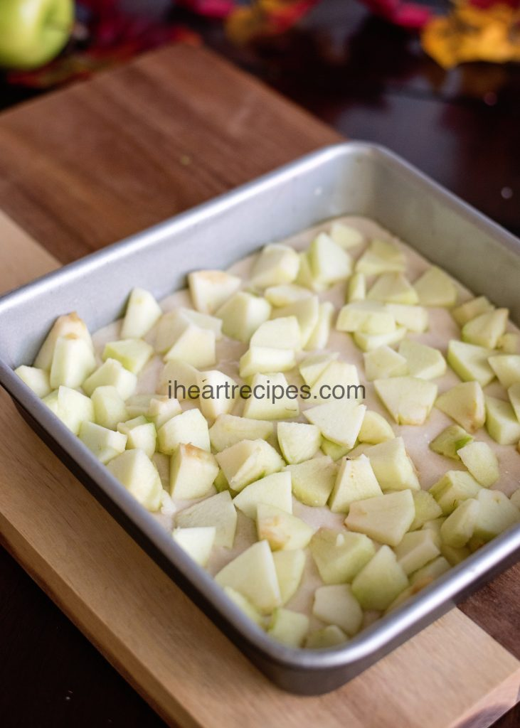 Granny smith apples are perfect for baking- especially this cobbler