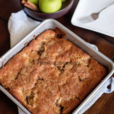 Apple Cobbler with Bisquick