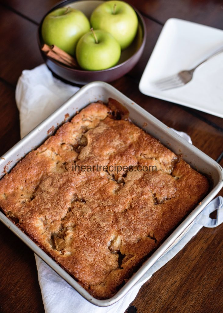 Tasty Apple Cobbler with Bisquick