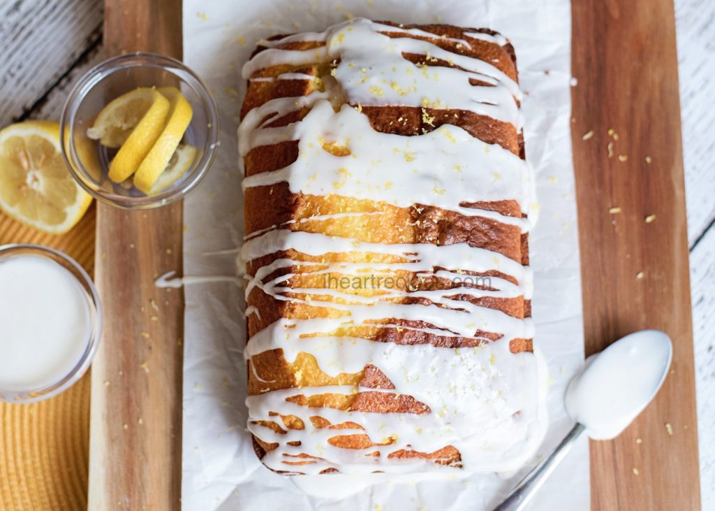 Lemon Loaf Pound Cake