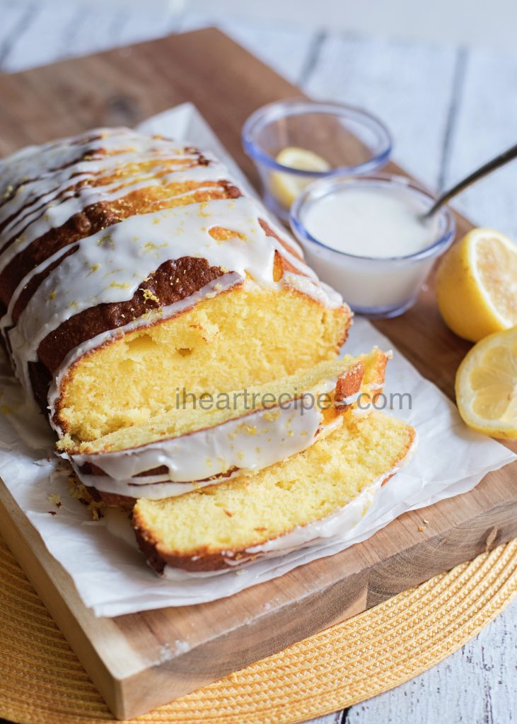 Sweet and sour lemon pound cake