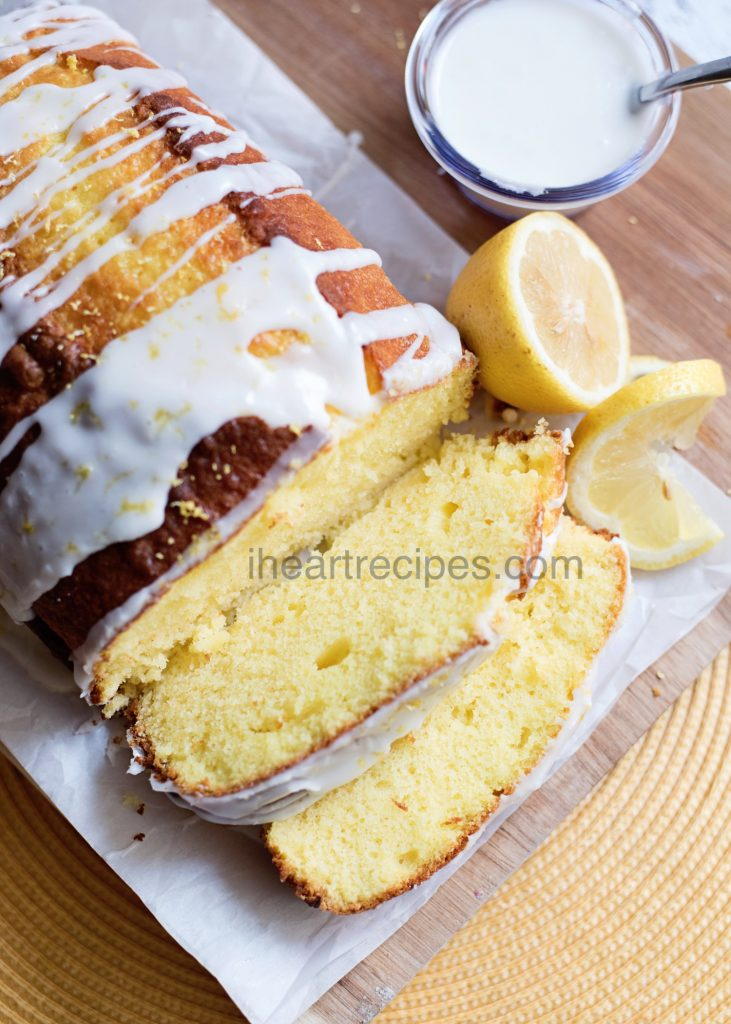 Lemon Loaf Pound Cake | I Heart Recipes