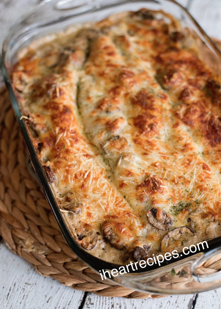 Baked to golden perfection- vegetable lasagna