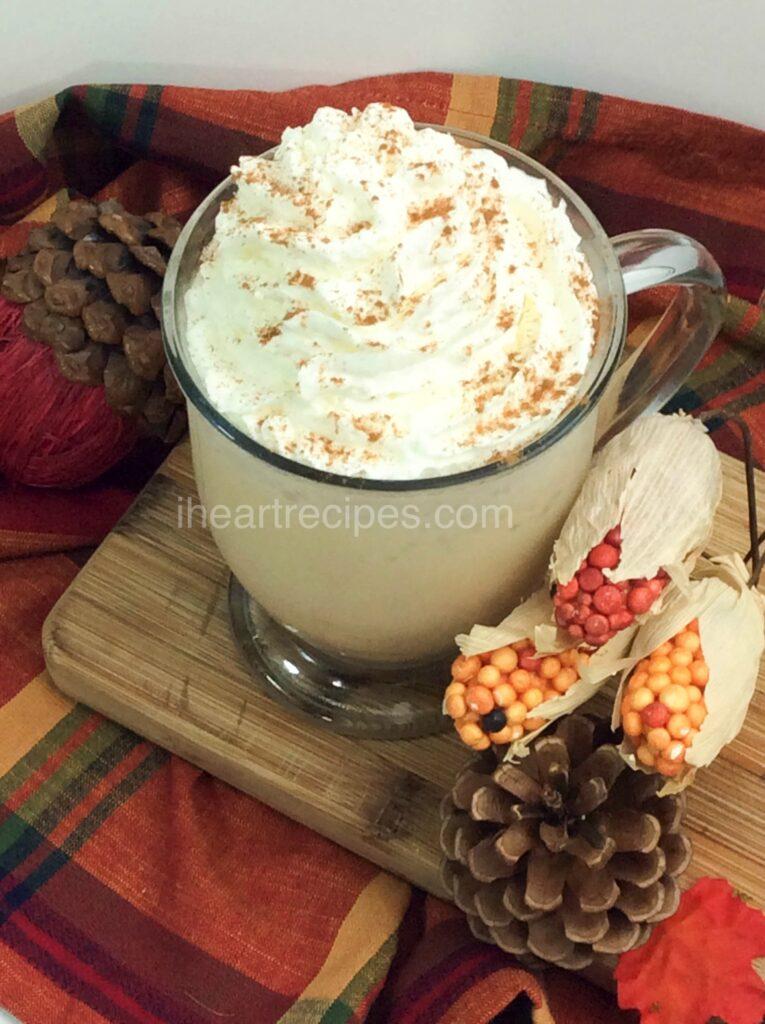 Pumpkin Spice Frappe | I Heart Recipes