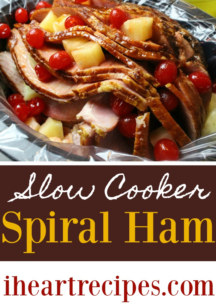 Slow Cooker Spiral Ham | I Heart Recipes