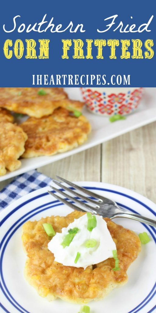 Southern Fried Corn Fritters are a wonderful addition to any meal!
