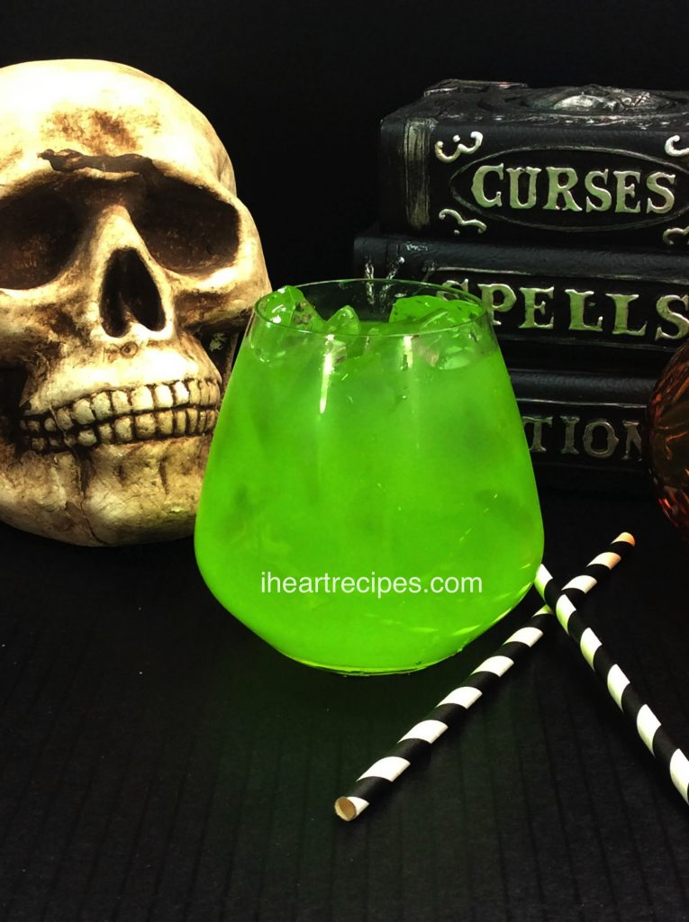 This spooky Halloween drink is the perfect adults-only cocktail