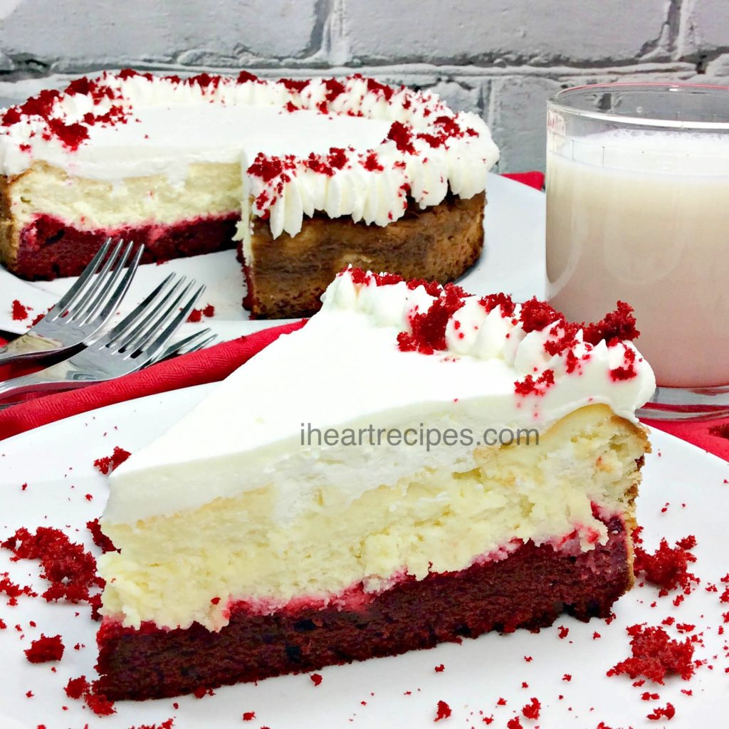 Red Velvet Cheesecake | I Heart Recipes