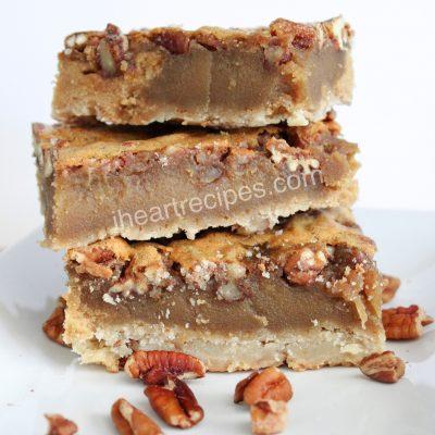 Homemade Pecan Pie Bars