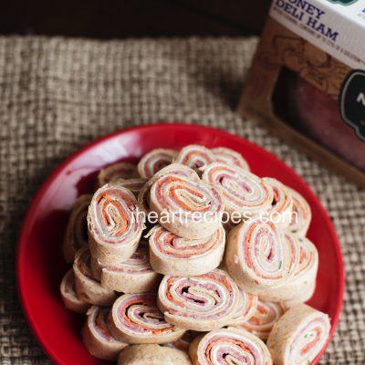 Italian Pinwheel Finger Sandwiches
