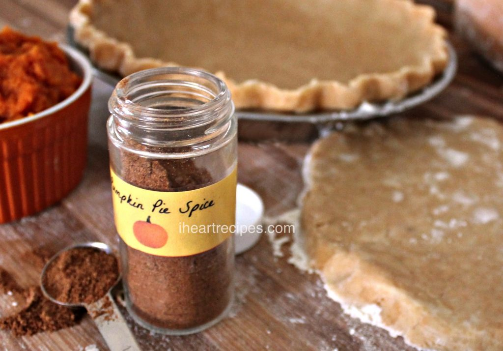 Fall isn't complete without pumpkin spice! This homemade pumpkin pie spice can be used in a lot of recipes for a taste of fall.