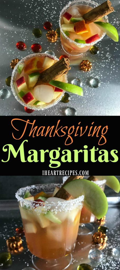 Thanksgiving Margaritas | I Heart Recipes