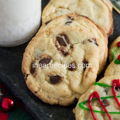 Mint Chocolate Christmas Cookies