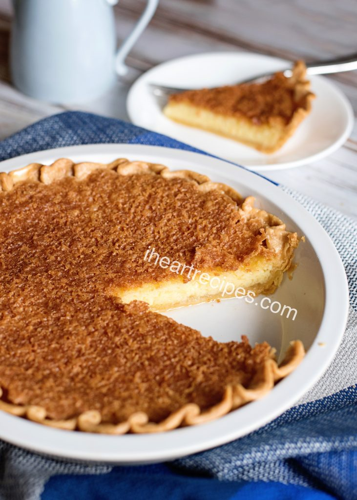 Delicious, old-fashioned chess pie