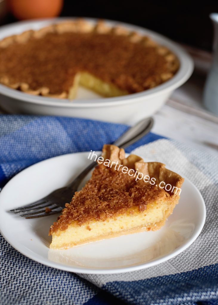 Try this recipe for old-fashioned chess pie