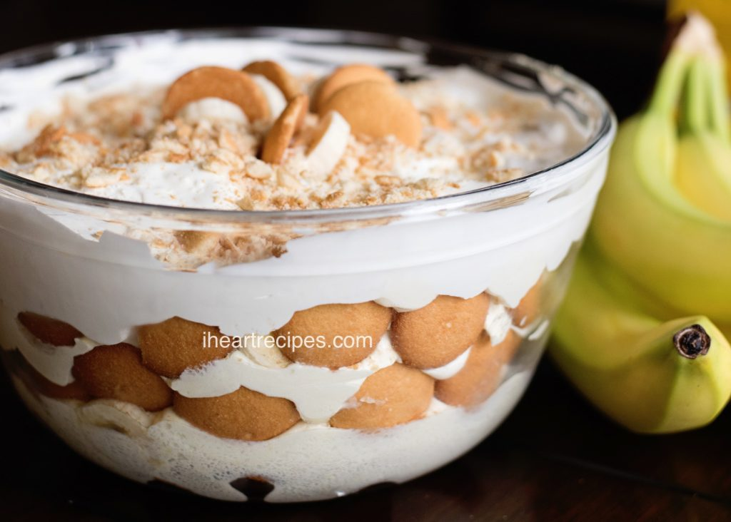 This Vanilla Wafer Banana Pudding is simple and sweet.