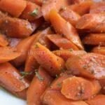 Roasted Maple Glazed & Peppercorn Chai Carrots