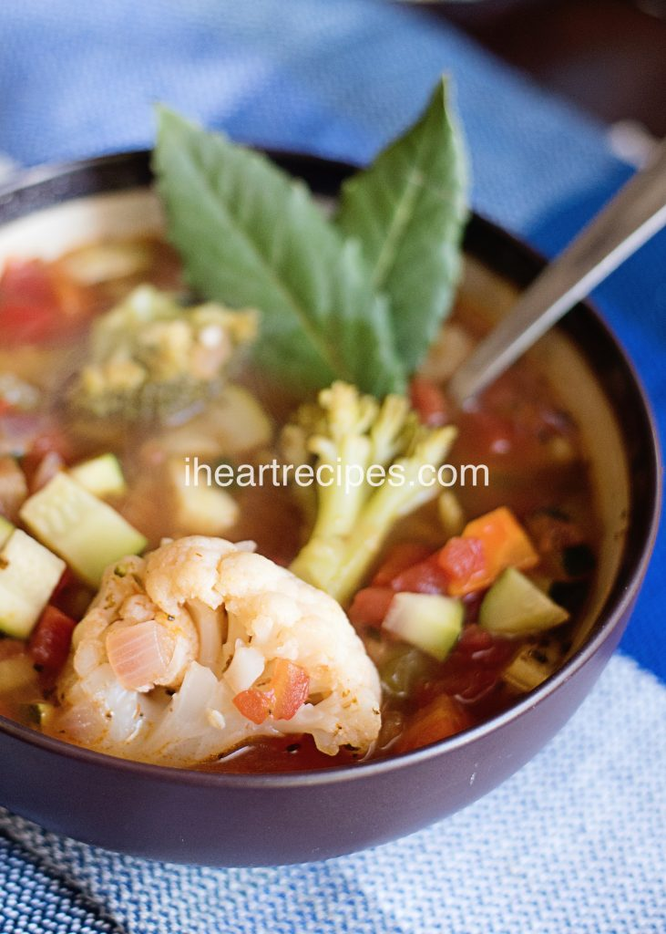 7 Day Vegetable Soup Diet from I Heart Recipes