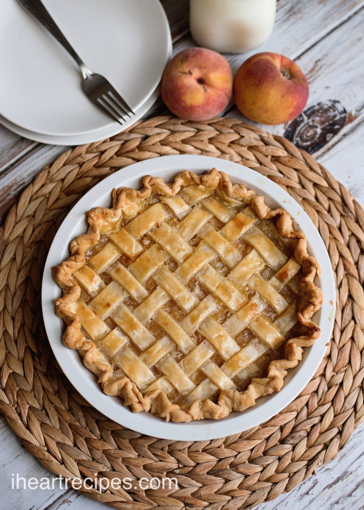 Grandma's Peach Pie