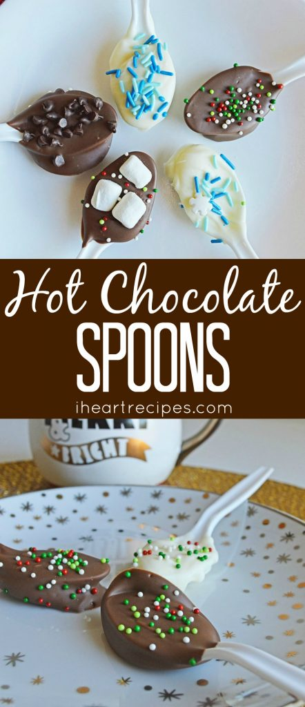 Hot Chocolate Spoons | I Heart Recipes