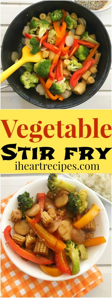Vegetable Stir Fry Recipe I Heart Recipes