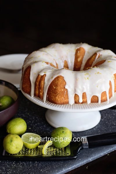 Homemade Key Lime Pound Cake
