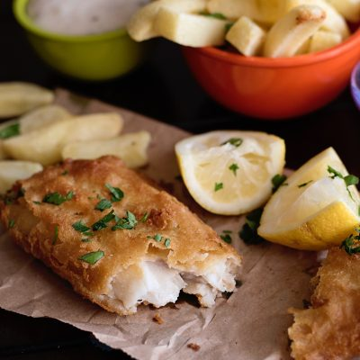 EASY Weekday Fish & Chips!