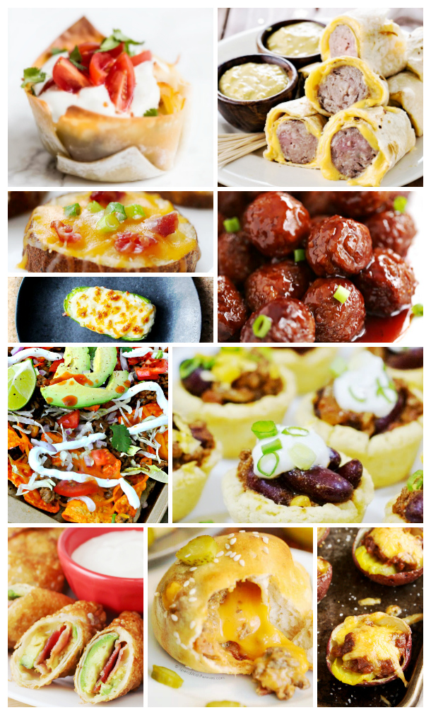 A huge variety of recipes to try